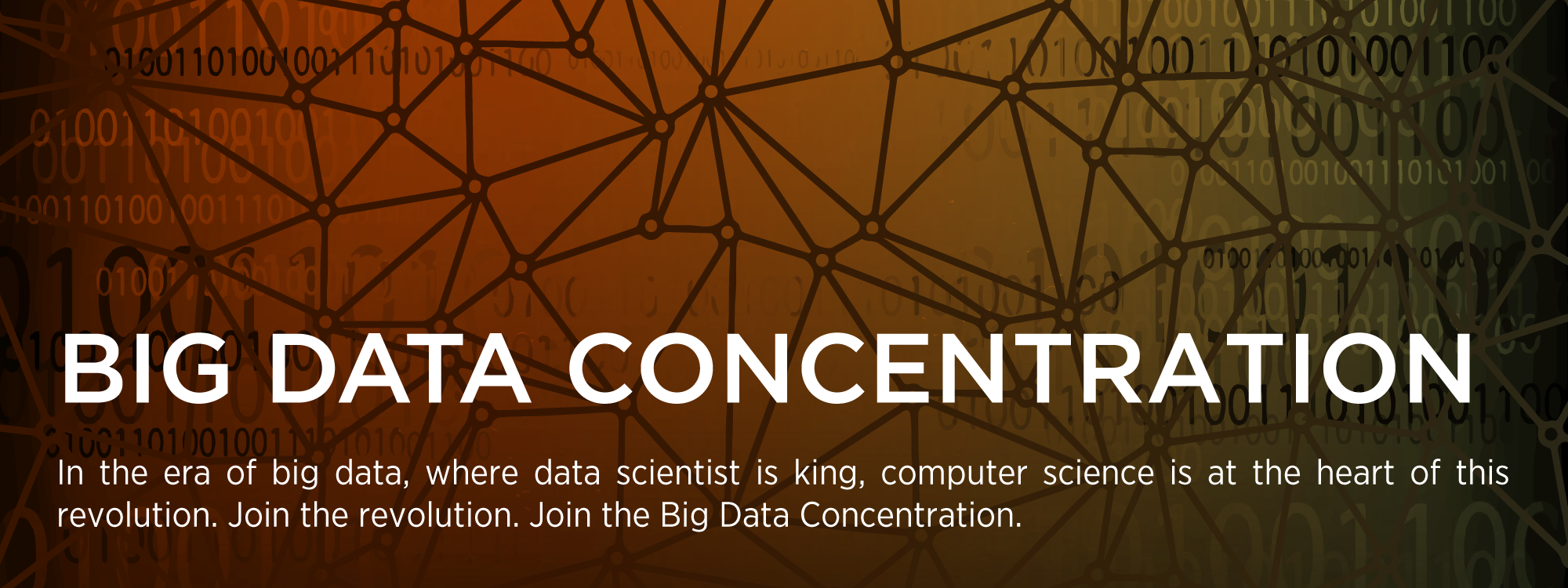 Big Data Concentration | Department of Computer Science