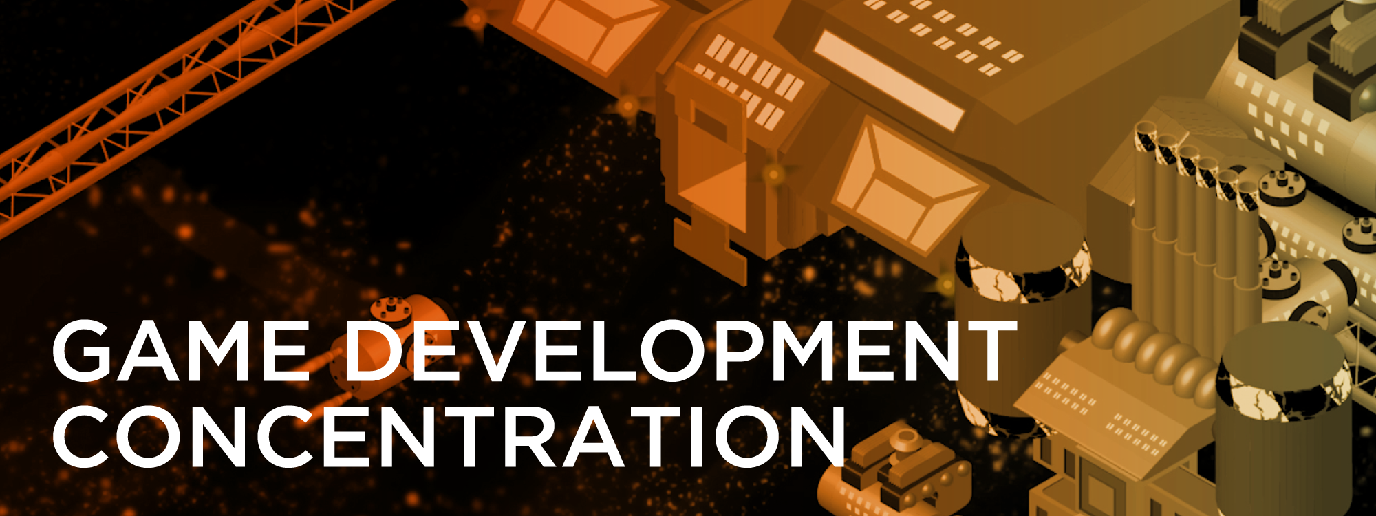 As mobile, online, and social platforms improve, more and more opportunities arise in the inherently interdisciplinary field. Boost your creativity and technical skills, and enhance your education with the Game Development Concentration.
