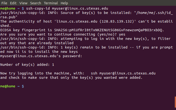 SSH Keys for CS (Mac and Linux) | Department of Computer Science