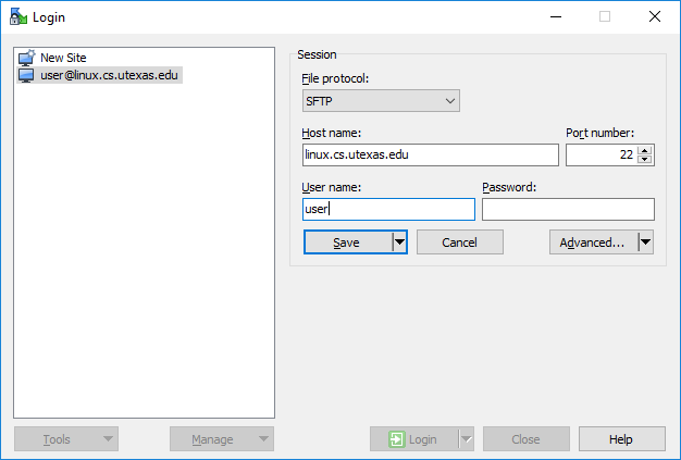SSH Keys with WinSCP (Windows) | Department of Computer Science