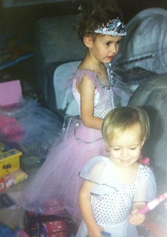 My one regret is giving up too early on being a fairy princess. There's probably still hope for my little sister though.