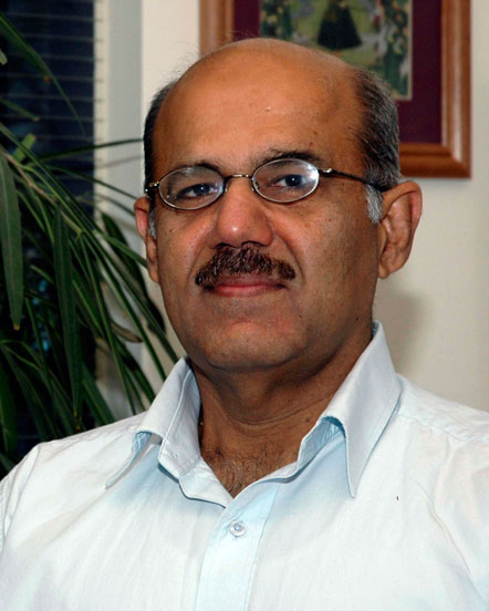 A photo of Professor Chandrajit Bajaj