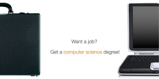 Want a job? Get a computer science degree.