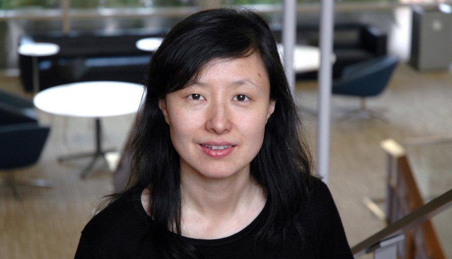 Portrait of Lili Qui in the Gates Dell Complex