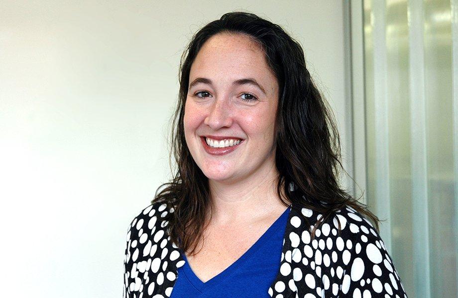 Lecturer Alison Norman