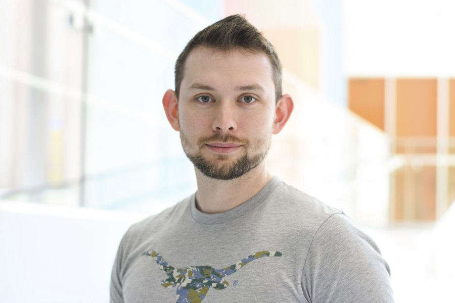 Travis Eakin, undergraduate student at The University of Texas at Austin, Department of Computer Science