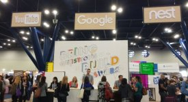 Grace Hopper Celebration Google Career Fair Booth