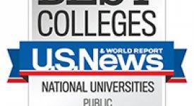 U.S. News & World Report Best Colleges - National Public Universities 2014