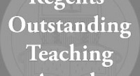 Regents' Outstanding Teaching Awards