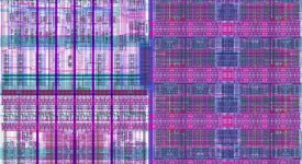 """An """"Asynchronous FPGA chip"""" built using the tools Keshav Pingali and his collaborators are developing for DARPA."""