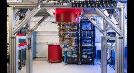 Google's quantum computer. Credit: Google