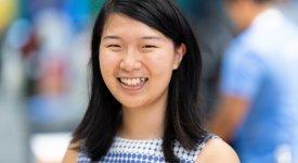 TXCS junior Rosaleen Xiong