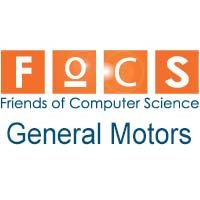 Friends of Computer Science - General Motors