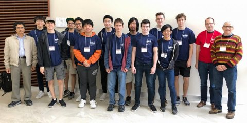 The UT Programming Club won the ICPC South Central USA Regional Competition at Baylor University in Waco, Texas.