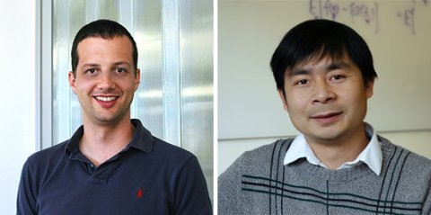 Professors Philipp Krähenbühl (Left) and Qiang Liu (Right)