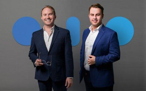 Denis Ignatovich (right) and Grant Passmore, co-founders of Imandra