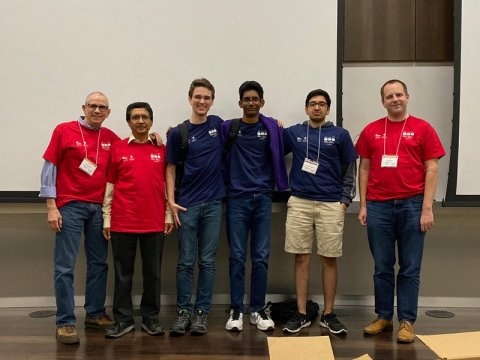 UT Programming Team won the International Collegiate Programming Contest (ICPC) South Central USA Regional Competition at Baylor University in Waco, Texas