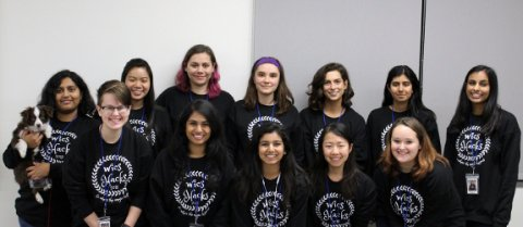 Women in Computer Science student organization members