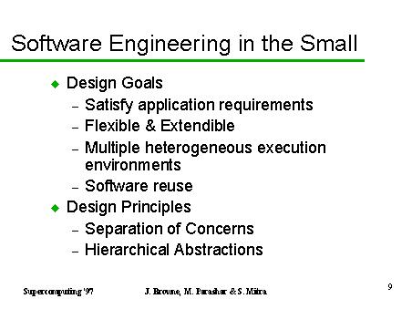 Software Engineering In The Small