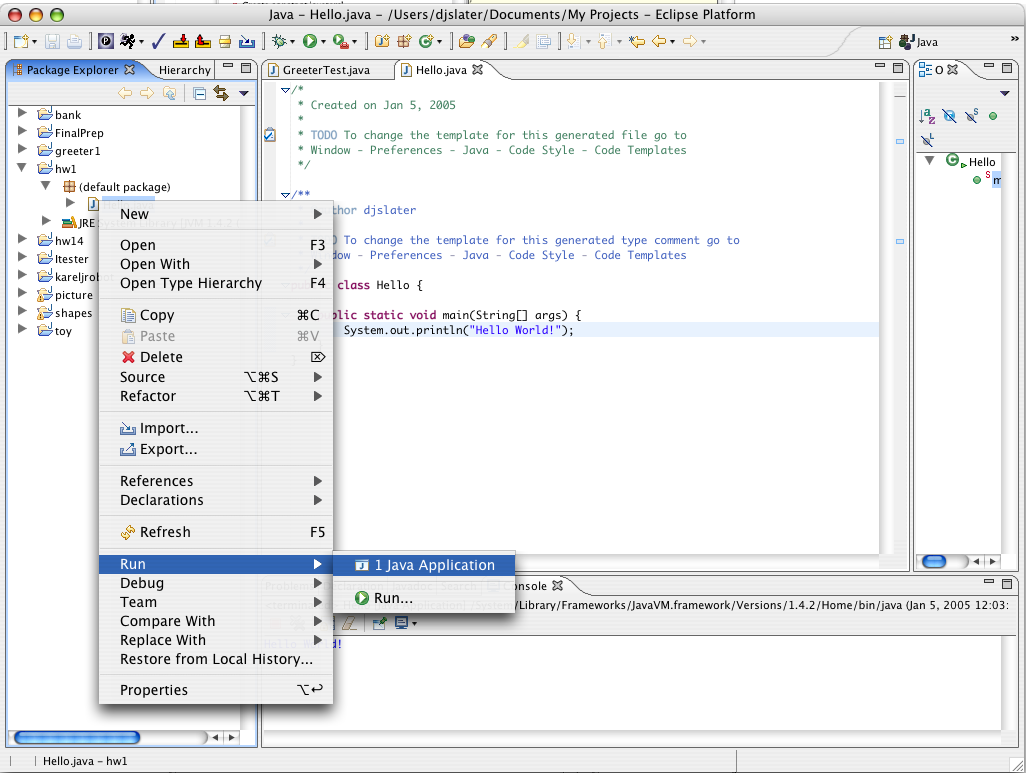 how to run html file in eclipse