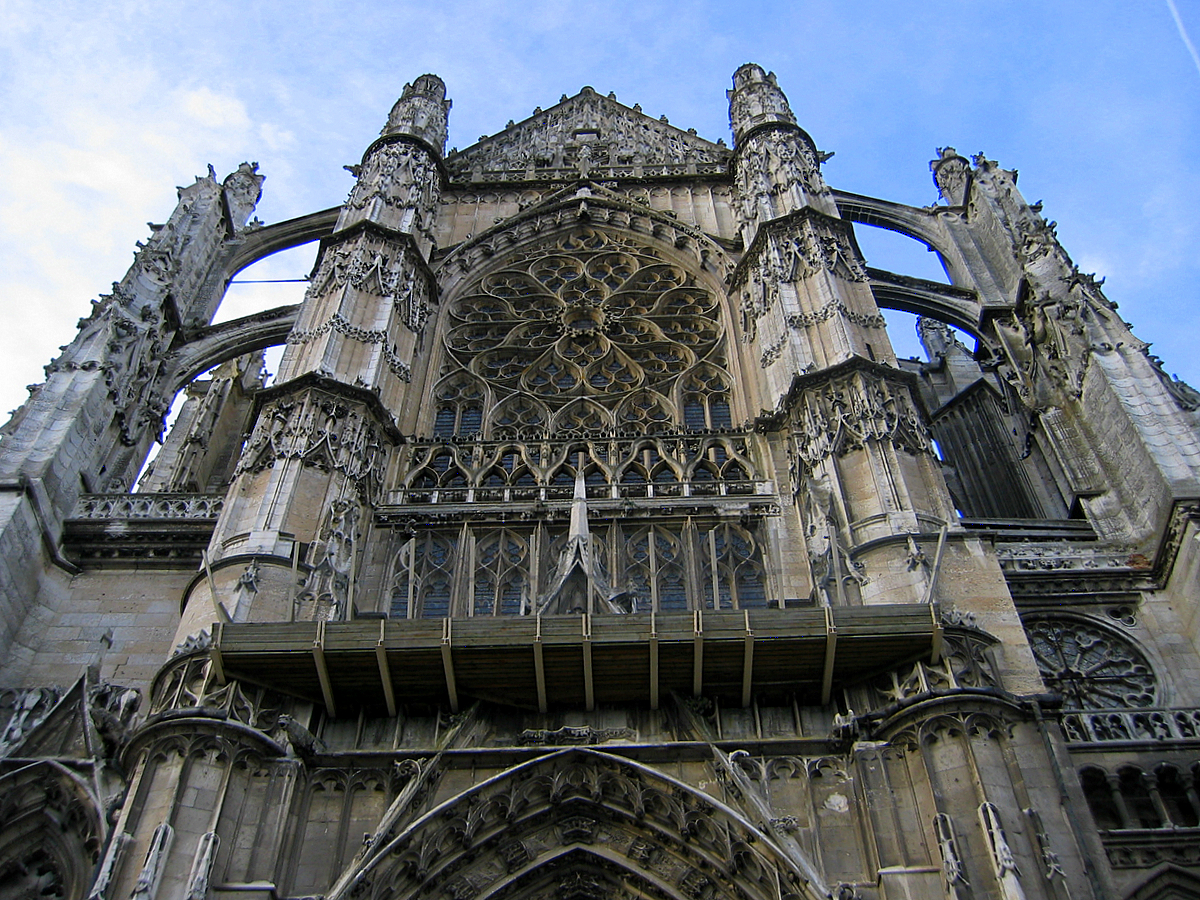 Beauvais cathedral, south portal