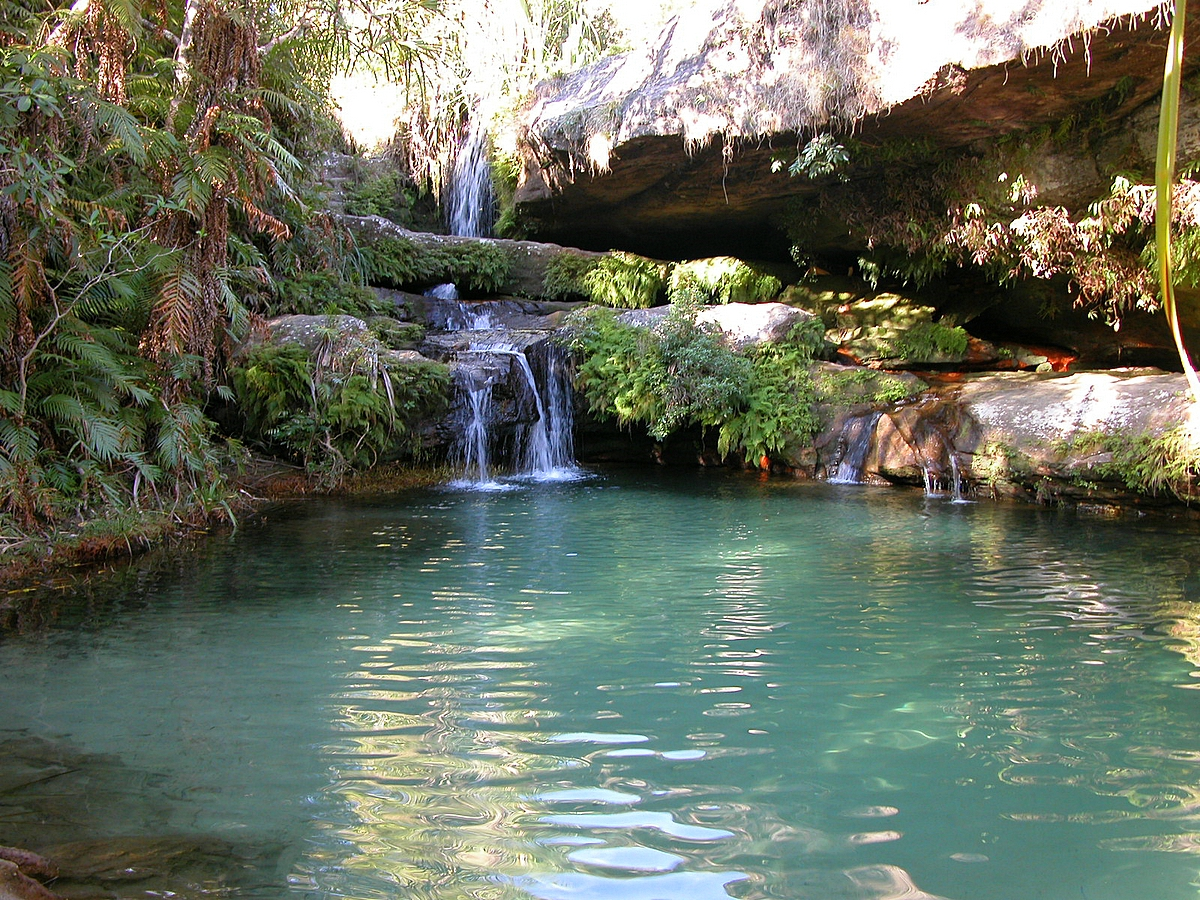 Piscine naturelle isalo national park for Piscine naturelle cascade